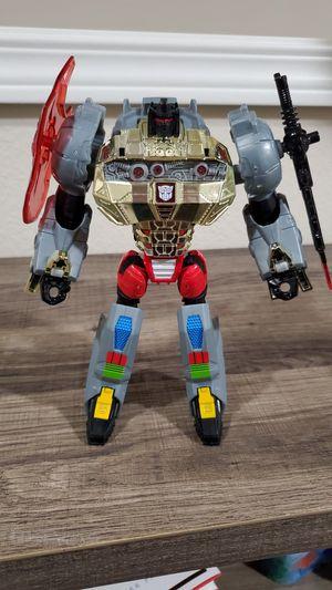Transformers Silver Knight Grimlock for Sale in Renton, WA