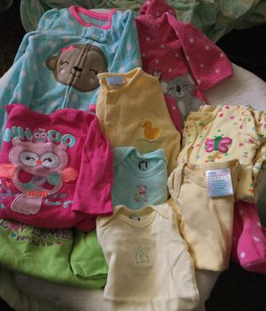 0-3Months baby girl clothes for Sale in South Amherst, OH