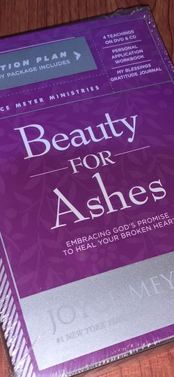 Beauty For Ashes DVD Set - Joyce Meyer for Sale in Madison Heights,  VA