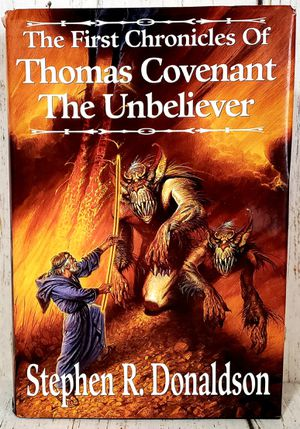 The First Chronicles of Thomas Covenant The Unbeliever Books 1 - 3 by Donaldson for Sale in Harrisonburg, VA