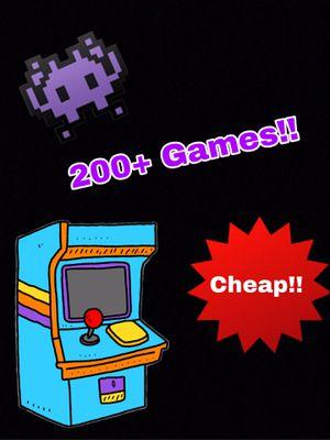 Retro Mini Arcade 200+ Games for Sale in Upland, CA