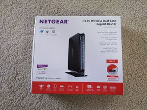 Netgear N750 Wireless Router for Sale in Irving, TX