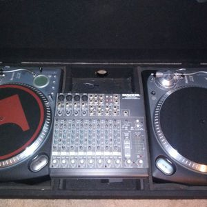 Nice Numark TTX Turntables, Coffin, And Mackie For Sale for Sale in Winder, GA