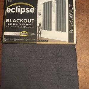 Eclipse Blackout curtain panels 84in Long for Sale in Lancaster, PA
