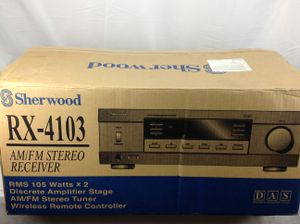 Sherwood AM/FM Stereo Receiver WORKS for Sale in Largo, FL