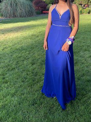 Bright Blue Dress w/ Gems for Sale in Tacoma, WA