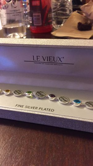 Silver plated multi colored bracelet for Sale in Columbus, OH