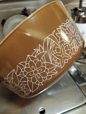 Pyrex Woodland Pattern Casserole for Sale in Whittier, CA