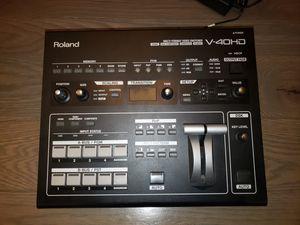 Video mixer. Roland V-40HD for Sale in Mukilteo, WA