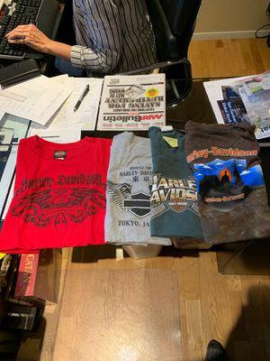 Harley-Davidson tee shirt lot! for Sale in Garden Grove, CA