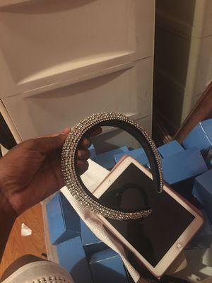 Diamond Headband Silver for Sale in Pompano Beach, FL