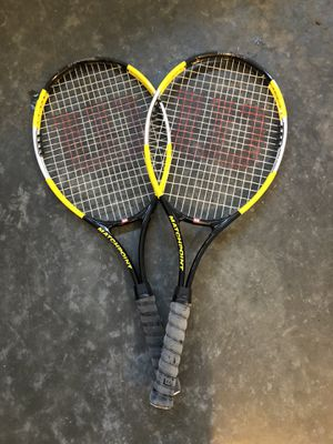 Wilson tennis rackets for Sale in Tacoma, WA