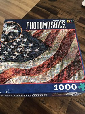 1000 piece puzzle for Sale in San Diego, CA