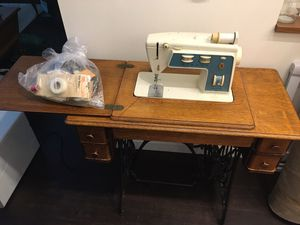 Antique Sewing Machine for Sale in Seattle, WA