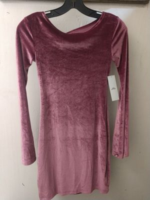 Pink Suede Mini Dress for Sale in Chicago, IL