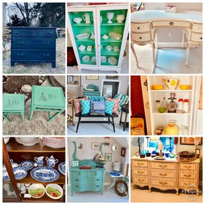 Upcycled furniture and unique vintage home decor for Sale in Kensington, MD