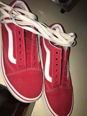 Vans red for Sale in Buffalo, NY