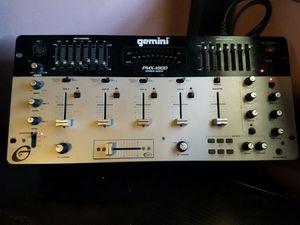 Dj, equipment, Gemini stereo mixer, PMX-1800 for Sale in Chicago, IL