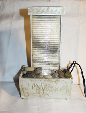 Tabletop LED Plug in Water Rock Fountain for Sale in London, KY