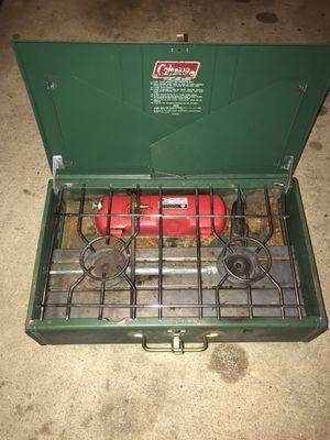 Coleman pop up camper stove for Sale in Cinnaminson, NJ