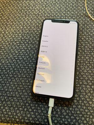 iPhone X 256 gb Verizon for Sale in Alexandria, VA