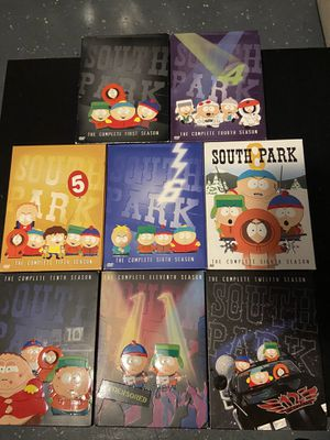 South Park DVD Seasons for Sale. Message for prices. for Sale in Corona, CA