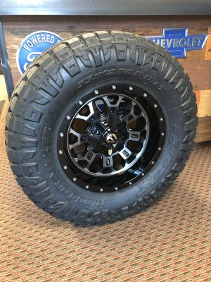Nitto/ Fuel wheels and tires for Sale in Everett, WA