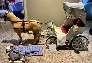 American Girl Doll Carriage and Horse for Sale in Bothell, WA