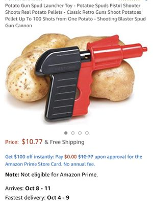Three Potato Pellet Guns for Sale in SANTA RSA BCH, FL