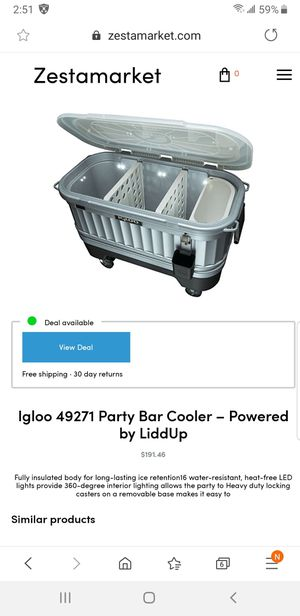 Igloo coolers for Sale in Arlington, TX