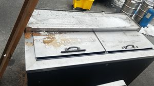 Commercial Glass fridge needs to be cleaned but works. for Sale in Chelan, WA
