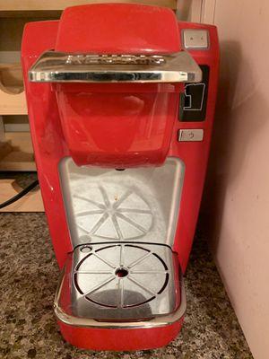 Keurig K15 single serve k-cup pod coffee maker red for Sale in Redwood City, CA