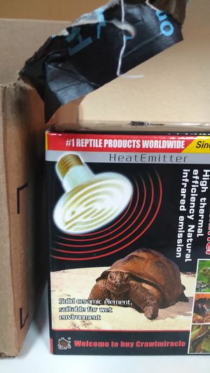 Reptile heat light for Sale in Portland, OR