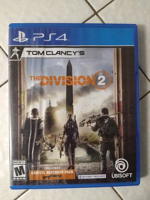 The Division 2 Ps4 for Sale in Fresno, CA