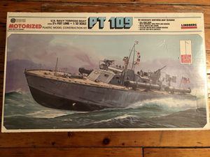 LINDBERG US Navy Torpedo Boat PT 109 1/32 Model Kit 812 MOTORIZED Toy for Sale in New York, NY