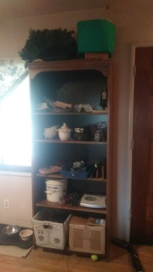 Nice wooden book shelve for Sale in San Leandro, CA