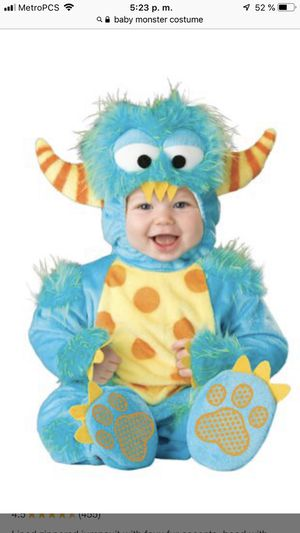 Baby monster costume for Sale in Indianapolis, IN