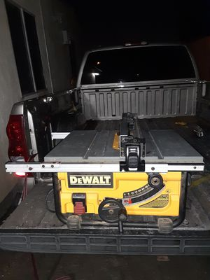 JOBSITE DEWALT TABLE SAW for Sale in Los Angeles, CA