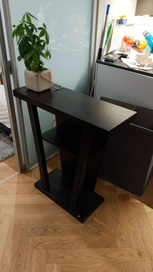 Entry console table with storage shelf for Sale in New York, NY