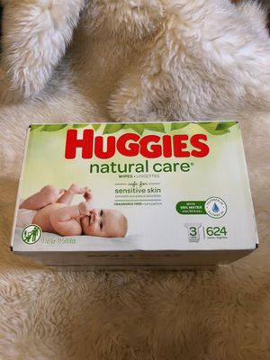 Huggies Natural Care Wipes 624 ct NEW BOX for Sale in Goodyear, AZ