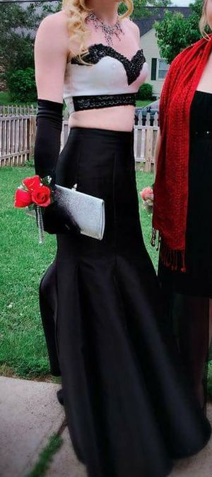 Balck and white prom dress for Sale in Columbus, OH