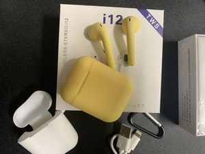 Yellow Bluetooth Wireless Headphones for Sale in San Diego, CA