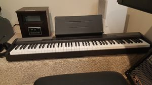 Casio CDP-100 Weighted Key Stereo Sampling Keyboard Piano for Sale in Levittown, PA