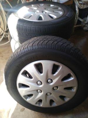 225/60 16 inch full set dodge rims & tires for Sale in Takoma Park, MD