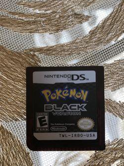 Nintendo DS Pokémon Black Version for Sale in Portland,  OR