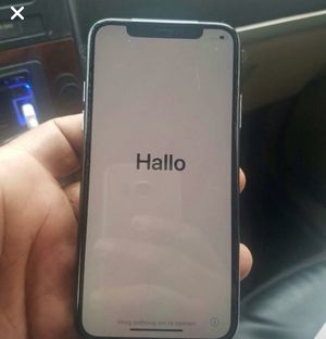 iPhone X 256 gigs for Sale in Baltimore, MD