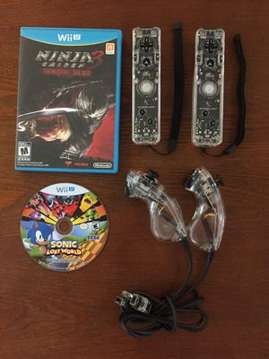 Nintendo Wii U Controllers & 2 Games for Sale in Honolulu, HI