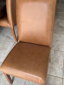 4 Cognac Chairs- $100 for Sale in Scottsdale,  AZ