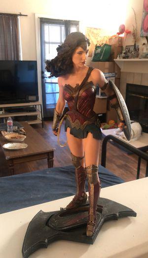 DC collection Batman vs Superman dawn of justice Wonder Woman statue for Sale in Rocklin, CA