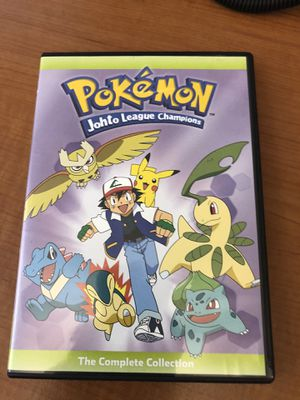 Pokemon * Johto League Champions * Complete Collection * + Pokémon Elements DVD for Sale in Atlanta, GA